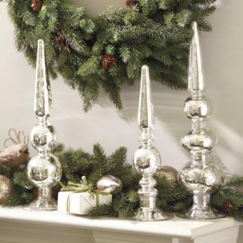 Mercury Glass Finials Ballard Designs
