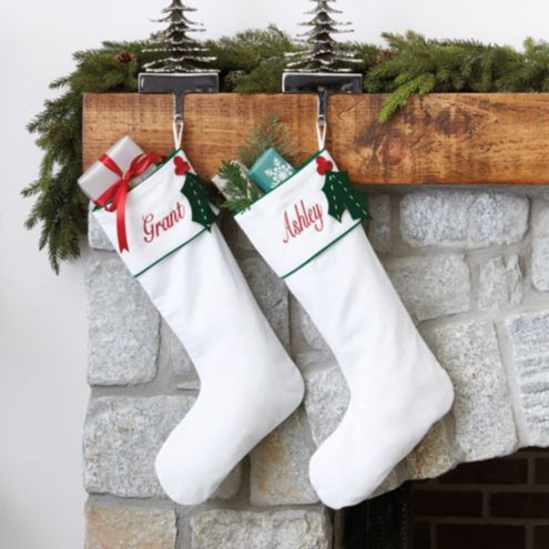Suzanne Kasler Angelina Felted Holly Stocking
