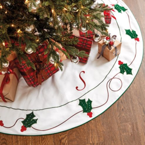 Suzanne Kasler Angelina Felted Holly Tree Skirt