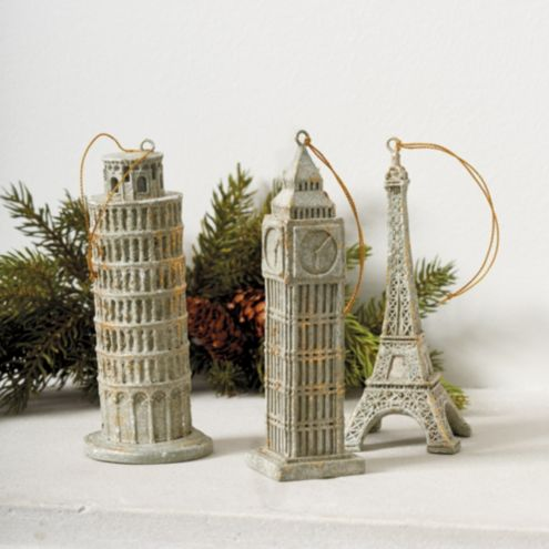 Around the Globe Ornaments