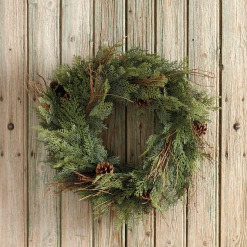 Asheville Cedar Wreath