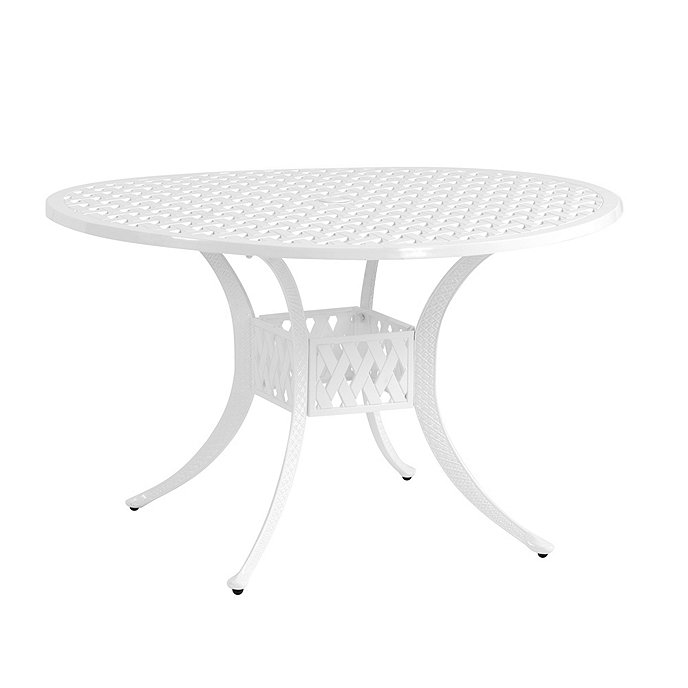 Maison Round Dining Table Inch Ballard Designs - 48 inch round white dining table