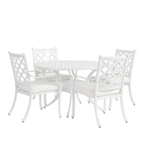 Maison 5-Piece Round Dining Set