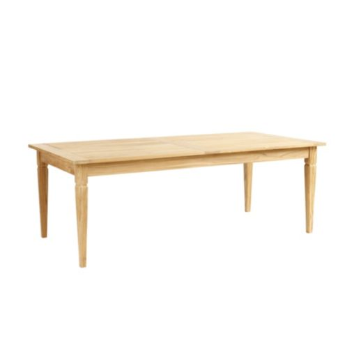 Classic Teak Rectangular Dining Table