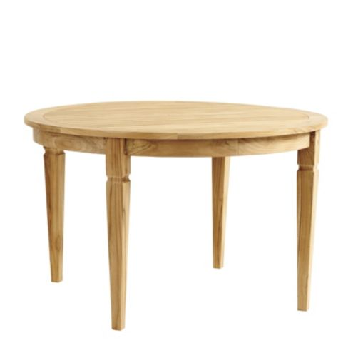 Classic Teak Round Dining Table