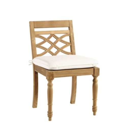Ceylon Teak Dining Side Chair