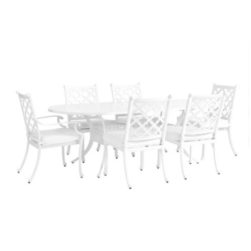 Maison 7-Piece Oval Dining Set