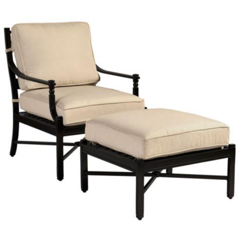 Newport lounge chair ottoman ballard designs for Ballard designs chaise lounge