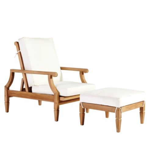Madison Reclining Chair & Ottoman