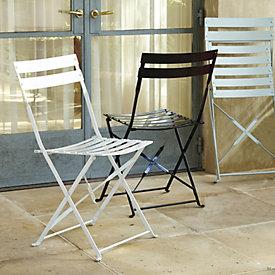 Café Folding Chairs   Set Of 2