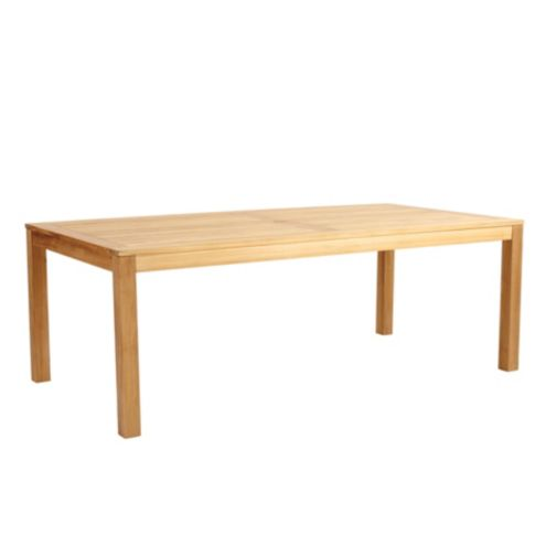 Provincetown Teak Rectangular Dining Table