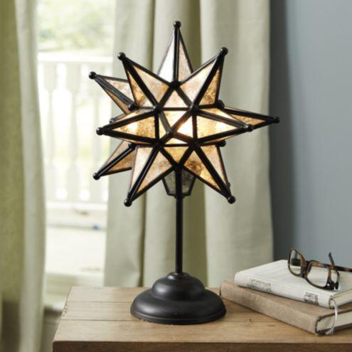 Moravian Star On Stem Table Lamp Ballard Designs