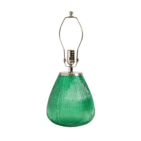 Estrella Table Lamp Base - Small Dark Green