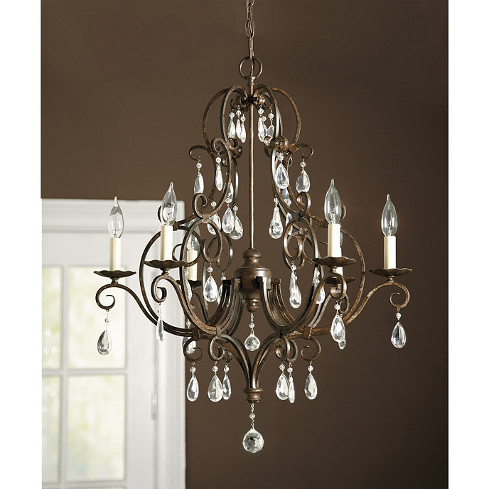 Waldorf 6 arm chandelier lighting ballard designs waldorf 6 arm chandelier aloadofball Choice Image