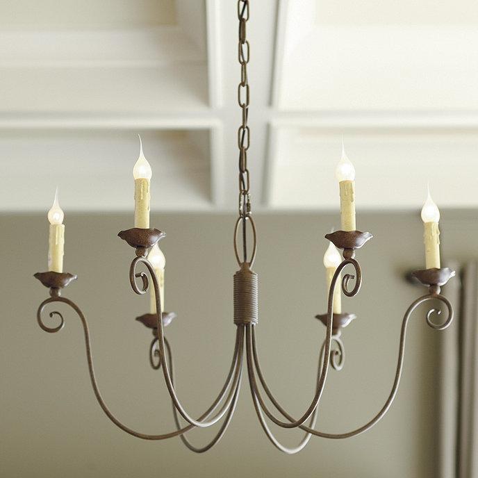 Cosette 6 light chandelier ballard designs cosette 6 light chandelier aloadofball Choice Image