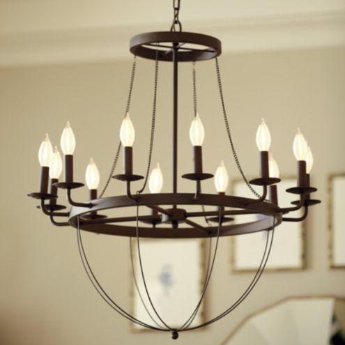 Lourdes 12 Light Chandelier Ballard Designs