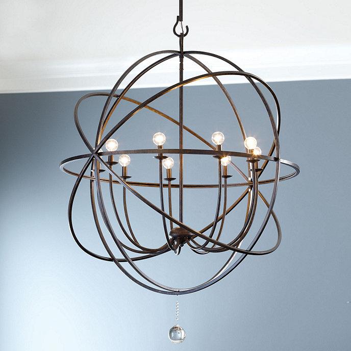Orb extra large chandelier ballard designs orb extra large chandelier aloadofball Images