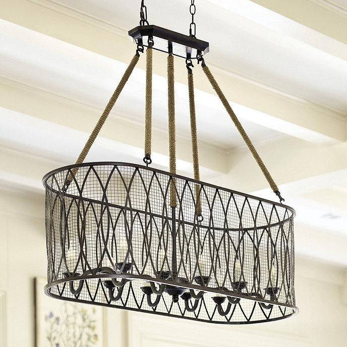 Denley 10 Light Pendant Chandelier | Ballard Designs
