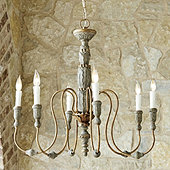 Rope chandelier ballard designs casa florentina verona chandelier aloadofball Gallery