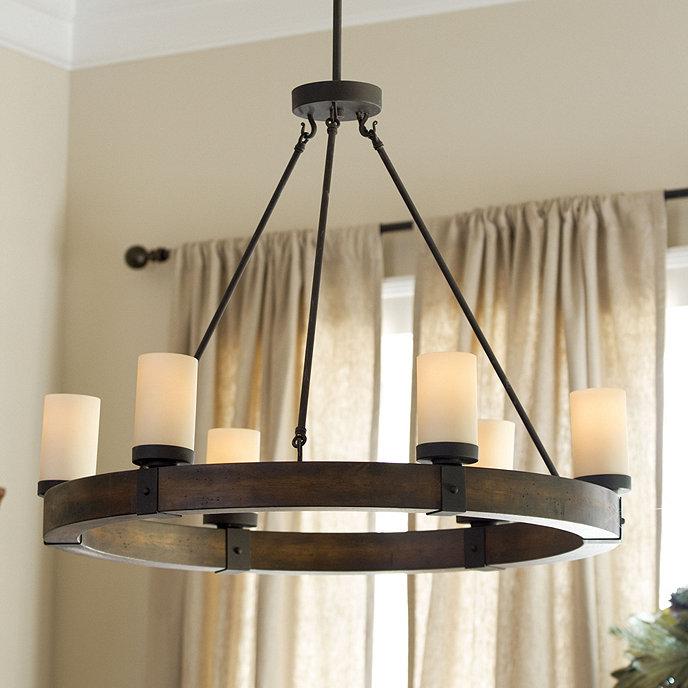 Arturo 6 light round chandelier ballard designs arturo 6 light round chandelier aloadofball Image collections