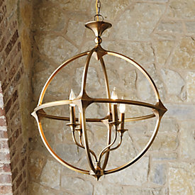 Orb chandelier ballard designs casa florentina lando orb 4 light chandelier aloadofball Image collections