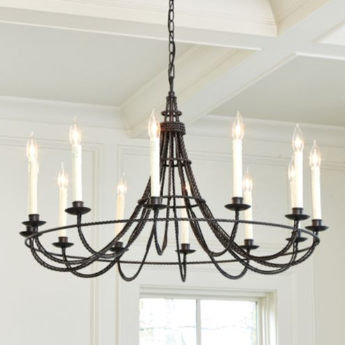 Collins 12-Light Chandelier