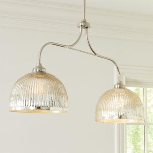 Seeded Glass Pendant Light Ballard Designs
