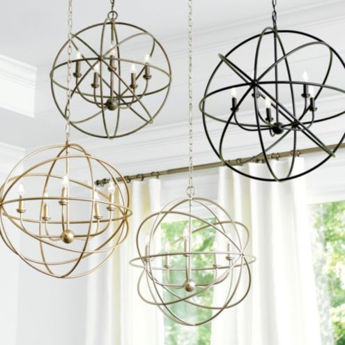 Beau Orb Chandelier Light