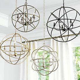 Beau Orb Chandelier  sc 1 st  Ballard Designs & Orb Chandelier | Ballard Designs