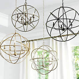 Orb chandelier ballard designs beau orb chandelier aloadofball Image collections