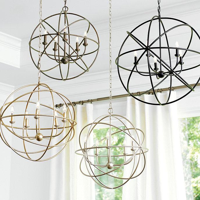 Beau orb chandelier light beau orb chandelier aloadofball Images