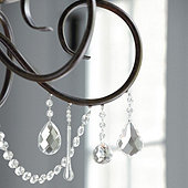 How to add crystals to a chandelier ballard designs magnetic crystals set of 3 mozeypictures Gallery