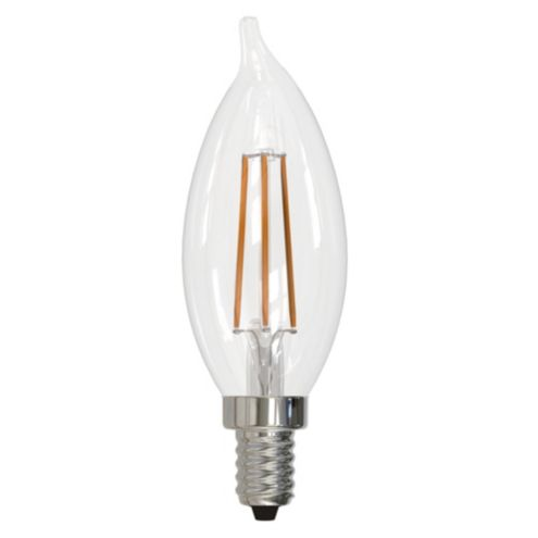 4.5W LED Filament Dimmable Point Candelabra Bulb