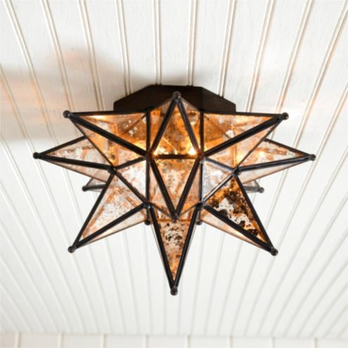 Moravian Star Ceiling Mount