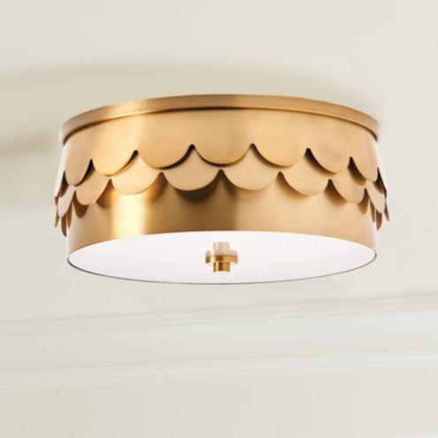 Sunburst Ceiling Mount Ballard Designs