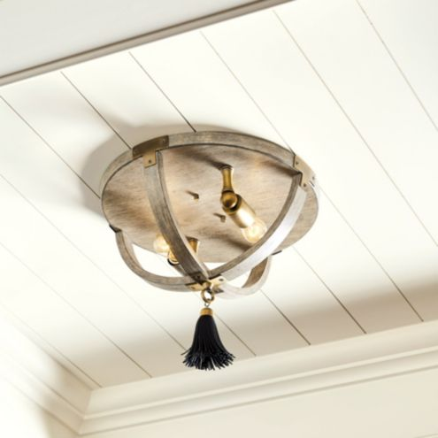 Clarissa 2-Light Ceiling Mount