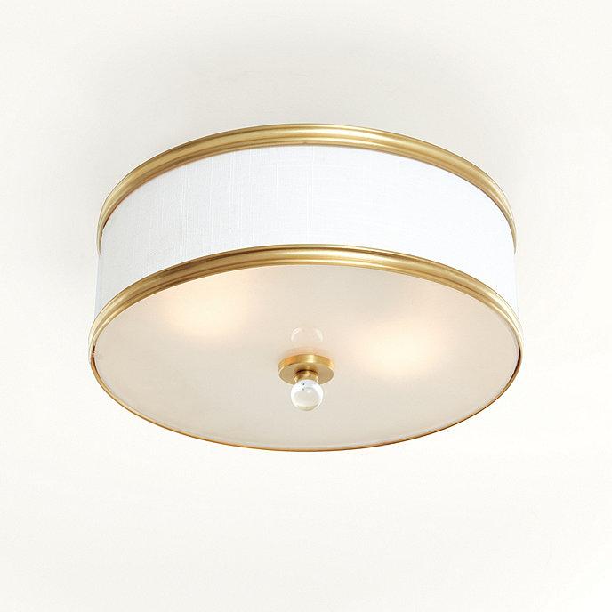 Blaire drum ceiling mount light fixture blaire drum ceiling mount aloadofball Choice Image
