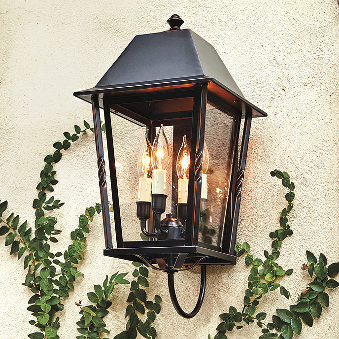 audrey 4 light outdoor sconce - Outdoor Sconce Lighting