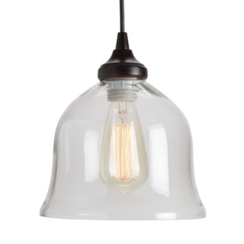 Can Light Adapter - Glass Bell Pendant