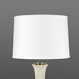 Couture oval lamp shade ballard designs classic tapered linen lamp shade aloadofball Choice Image