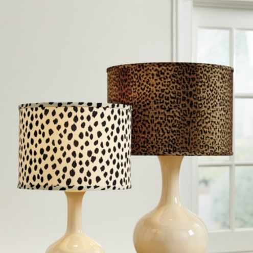 Animal Print Lamp Shade Ballard Designs
