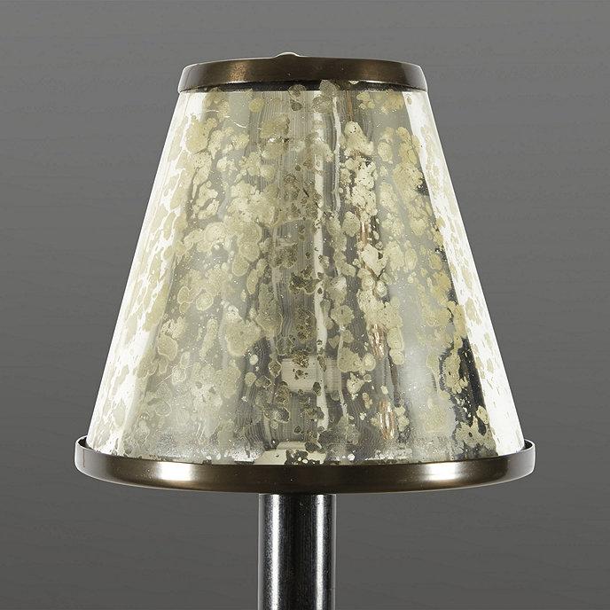 Mercury Glass Chandelier Shade