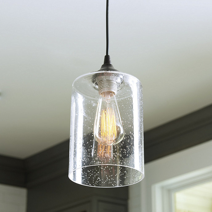 Can light adapter seeded glass pendant ballard designs can light adapter seeded glass pendant aloadofball Image collections