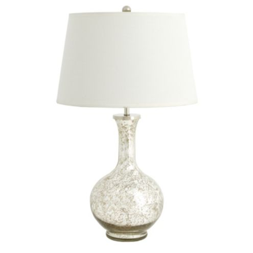 Suzanne Kasler Mercury Glass Gourd Lamp - Small
