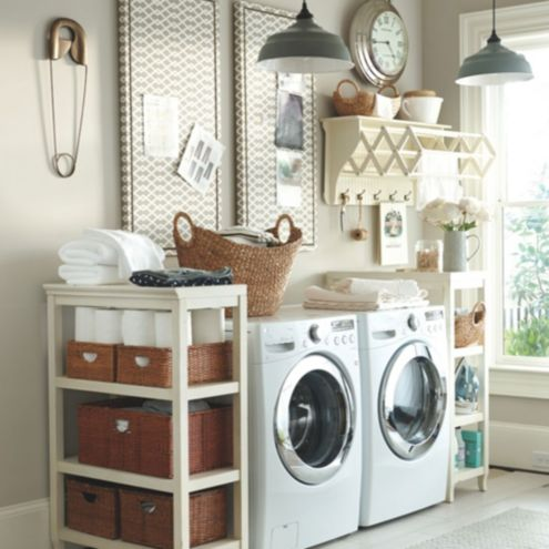 Provence laundry room decor ballard designs for Laundry room decor accessories