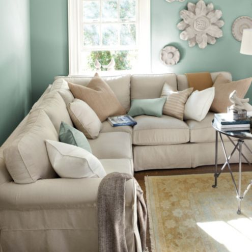 Baldwin Slipcover Sofa and Sectionals Collection