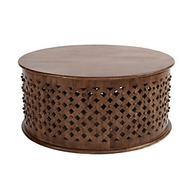 August Nesting Coffee Tables Set Of 2 Ballard Designs