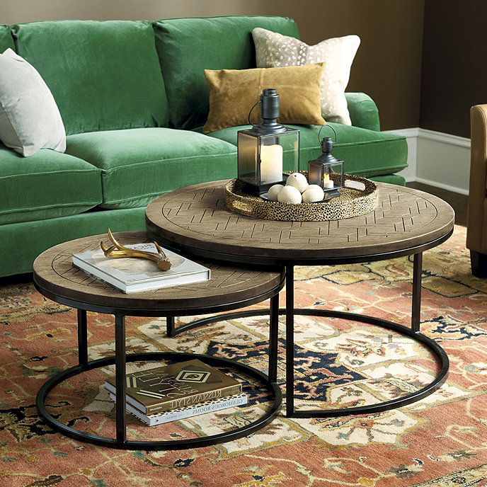 August Nesting Coffee Tables - Set of 2 | Ballard Designs