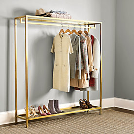Niles Double Coat Rack Ballard Designs - Designer coat rack