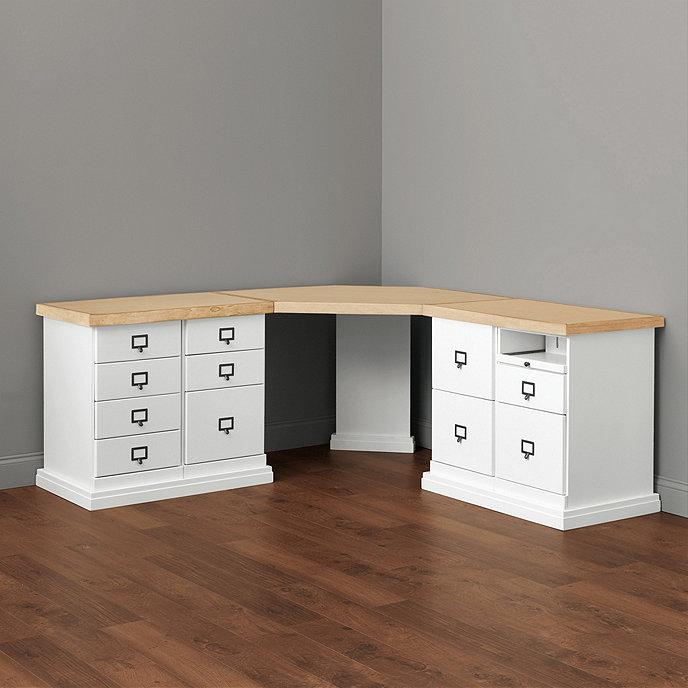 office corner. Original Home Office™ Corner Desk Group - Large Office Corner A